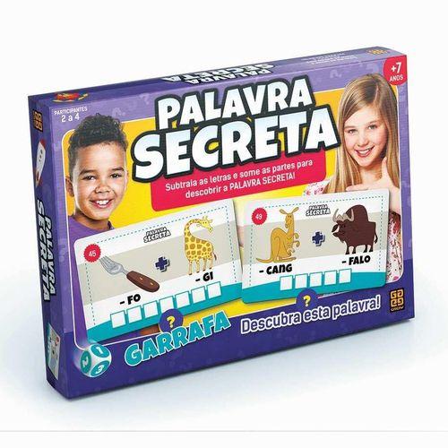 Jogo De Tabuleiro Palavra Secreta - Grow 1800