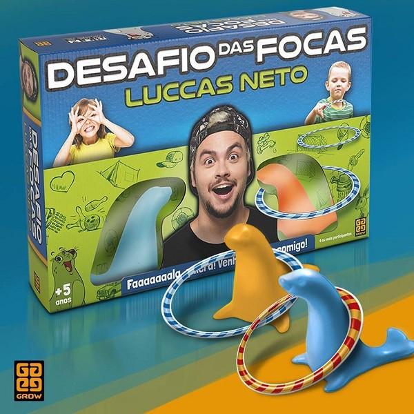 Jogo Desafio Das Focas Luccas Neto 03639 - Grow