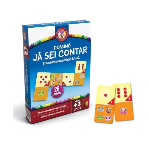 Jogo Dominó Já Sei Contar - Grow 1694