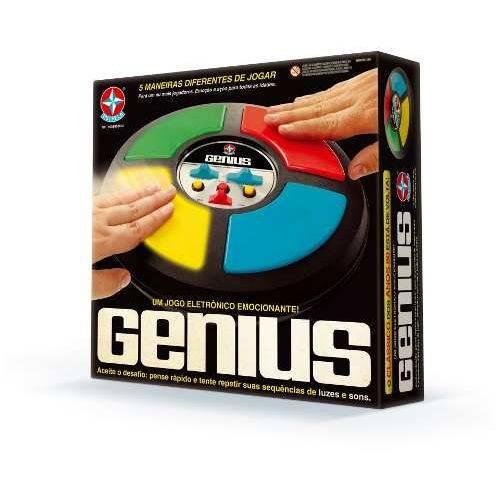 Jogo Eletrônico Genius - Estrela