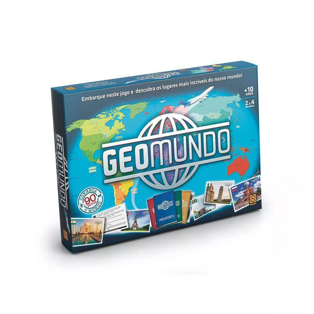 Jogo Geomundo 03446 - Grow