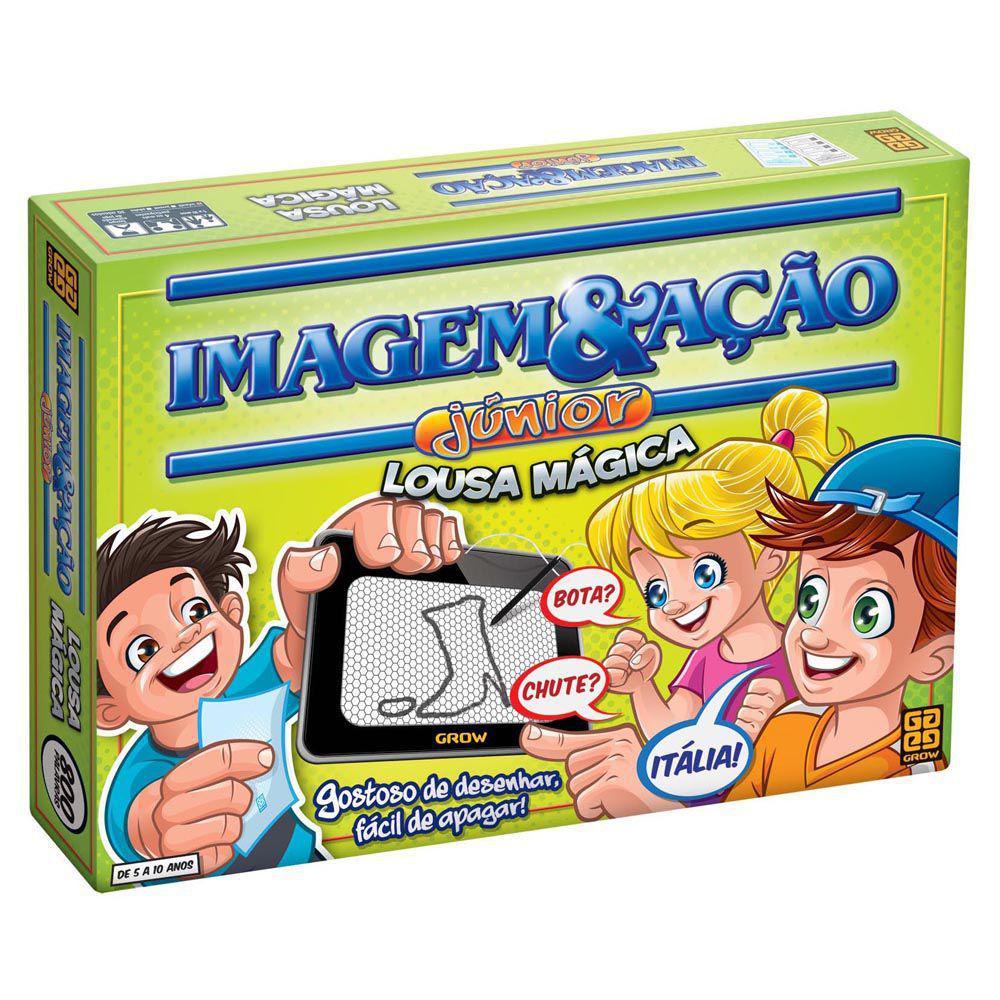 Jogo Imagem e Ação Junior Com Lousa Mágica - Grow 2590