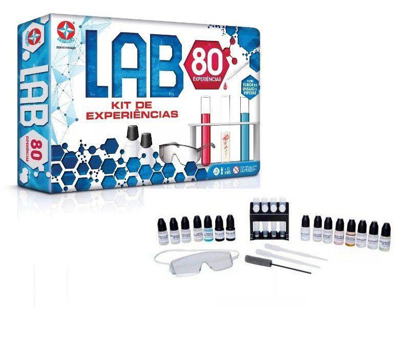 Jogo Lab 80 Kit De Experiências - Estrela