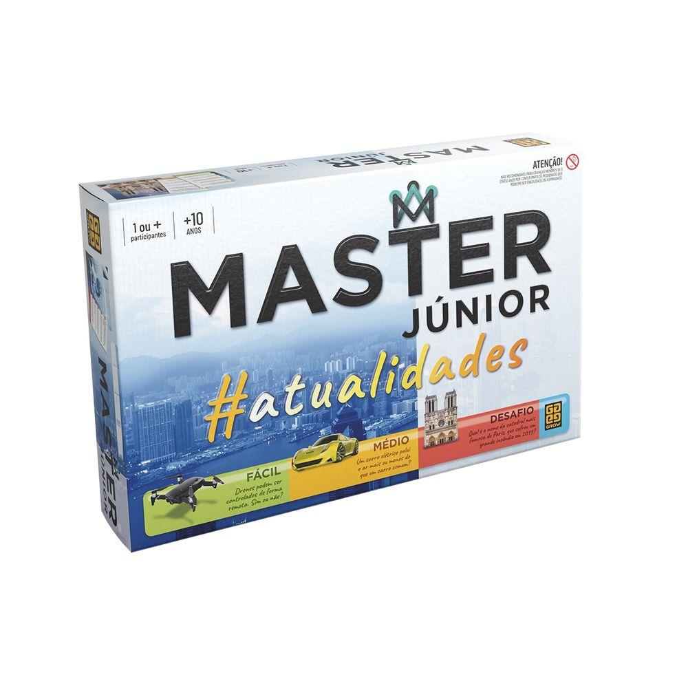 Jogo Master Júnior Atualidades - Grow 3756