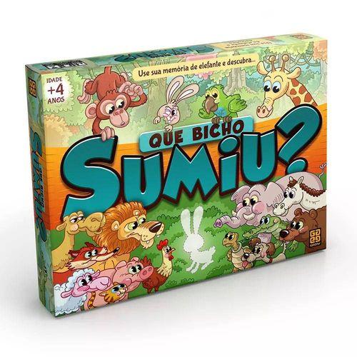 Jogo Que Bicho Sumiu ? - Grow 3449