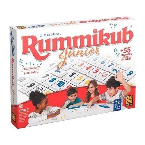 Jogo Rummikub Júnior - Grow 3513
