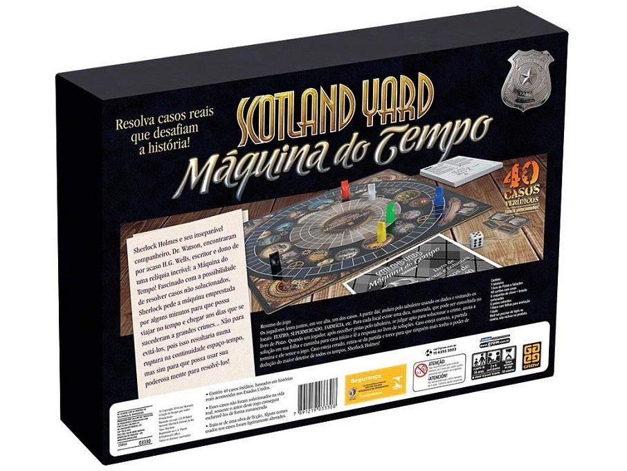 Jogo Scotland Yard Máquina do Tempo - Grow 03330