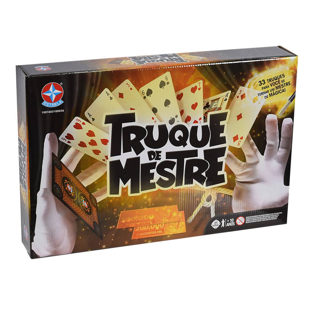 Jogo Truque De Mestre - Estrela