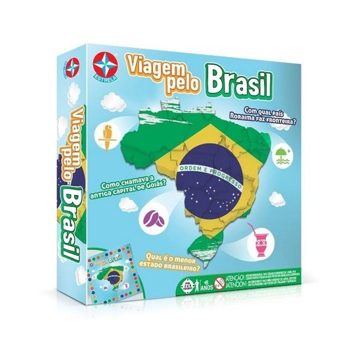 Jogo Viagem Pelo Brasil - Estrela