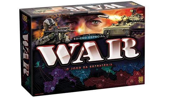 Jogo War  Edição Especial - Grow 1253