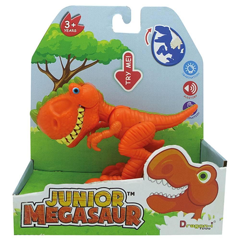 Junior Megasaur Mini Dino Comilão Laranja 81441 - Fun