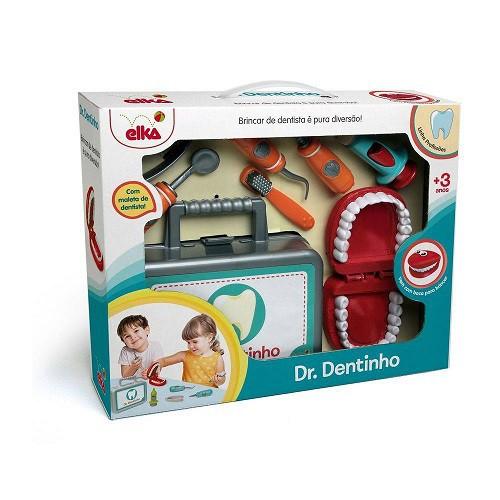 Kit Brincando De Dr. Dentinho 952 Elka