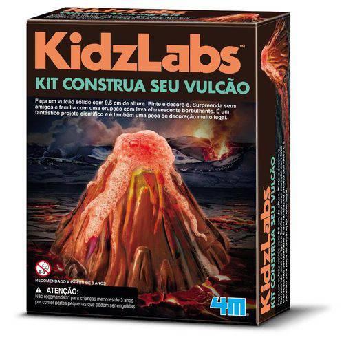Kit construa se vulcão - Kosmika 03230