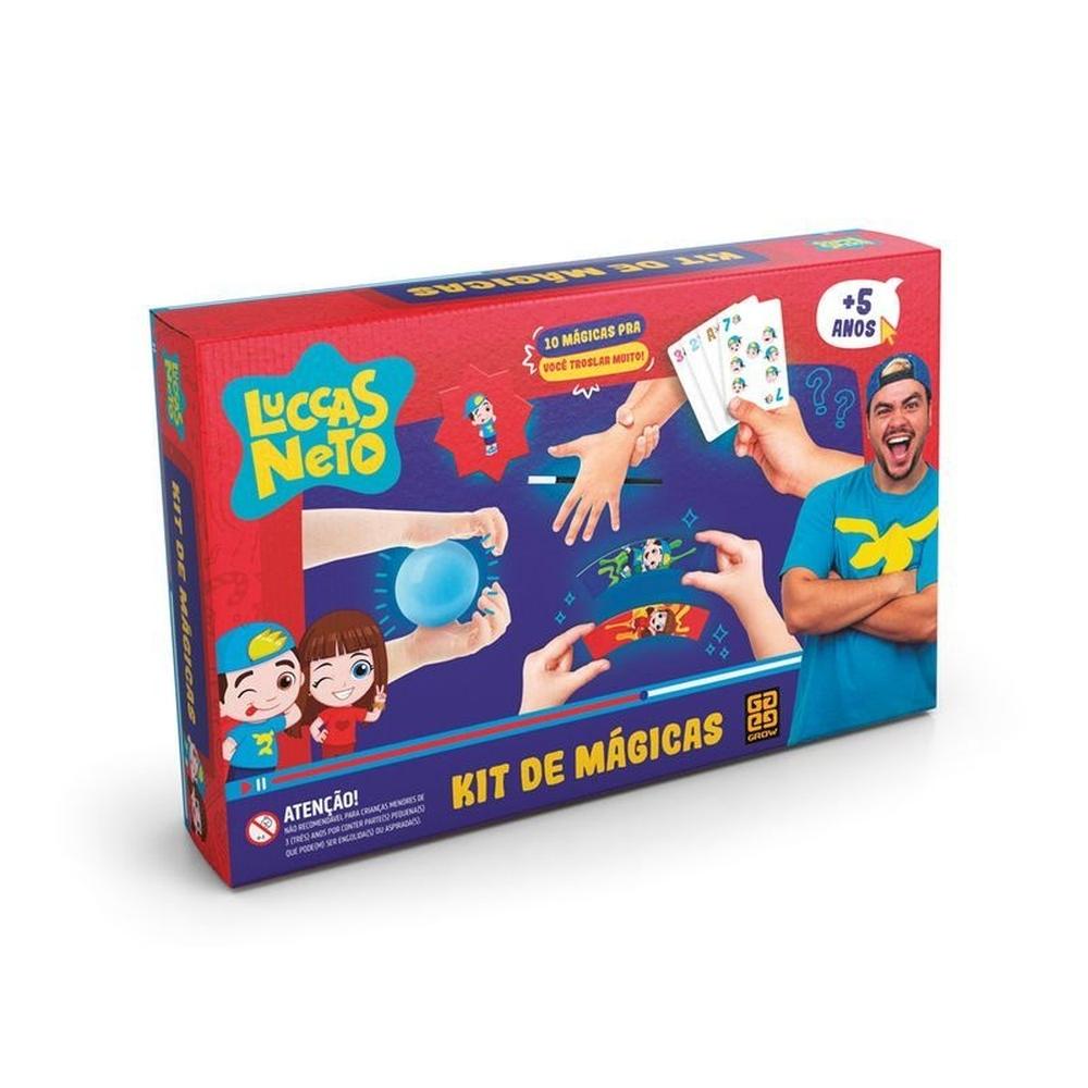 Kit de Mágicas Luccas Neto - Grow 3770