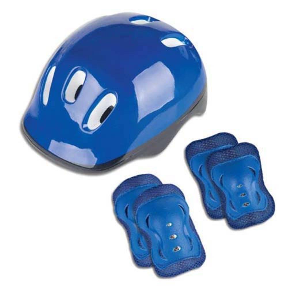 Kit De Proteção Joelheira E Cotoveleira Azul KCP02  - Fenix