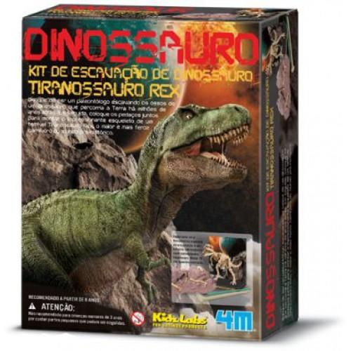Kit Escavação Dinossauro Tiranossauro Rex - Kosmika 03221