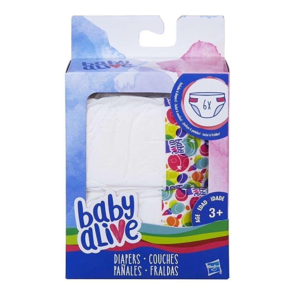 Kit Fraldas Baby Alive C2723 - Hasbro