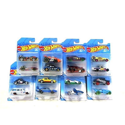 Kit Hot Wheels com 2 Carrinhos Escala 1:64 - Mattel FVN40