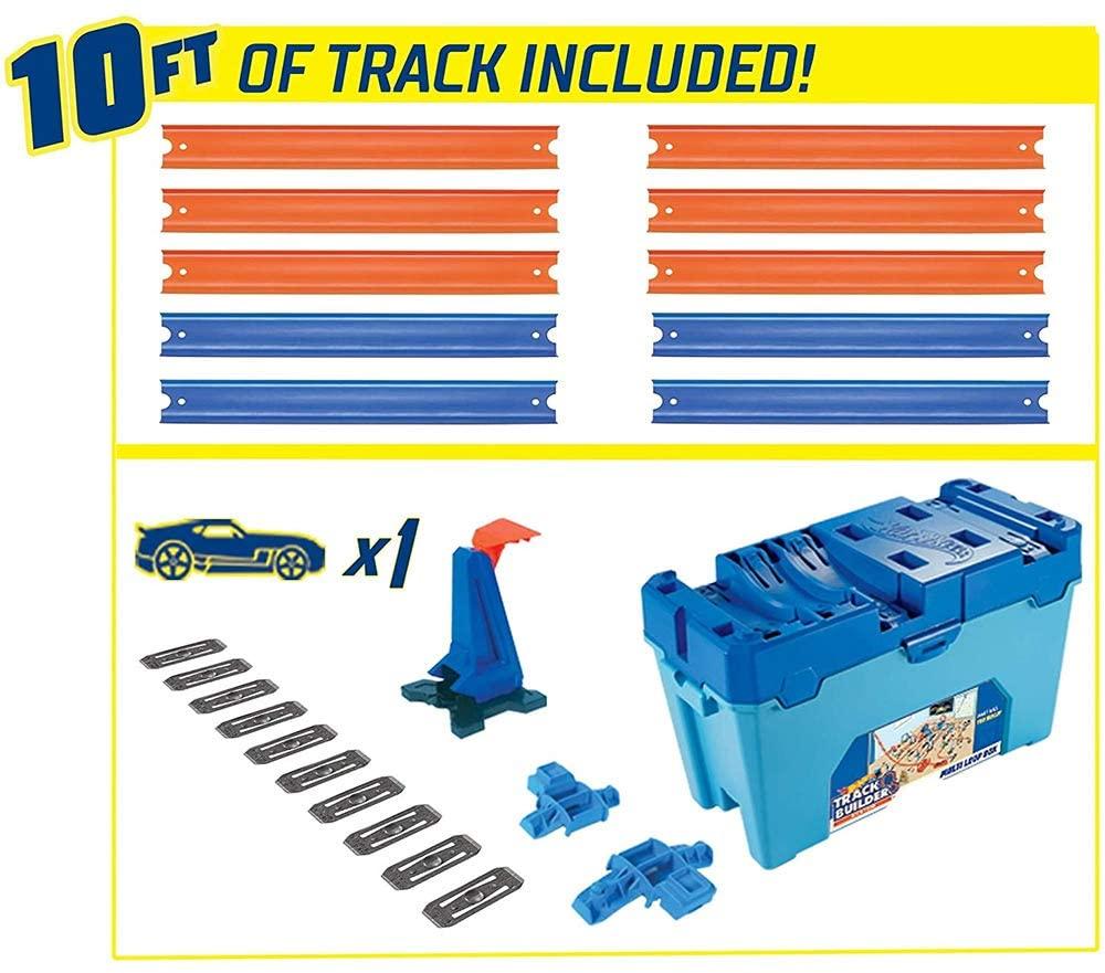 Kit Hot Wheels Track Builder Caixa de Obstáculos - Mattel FLK89