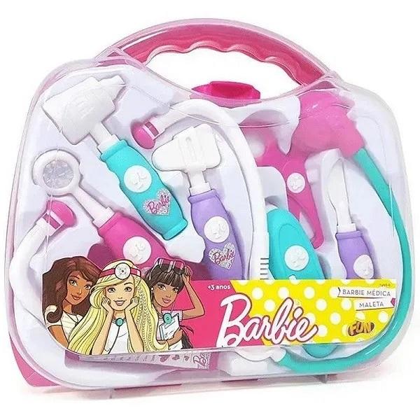 Kit Maleta Médica Barbie - Fun F00119