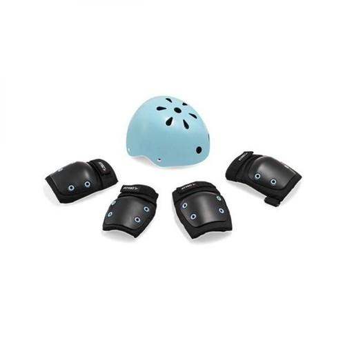 Kit Proteção Infantil +7 Anos Preto/azul ES183 - Atrio