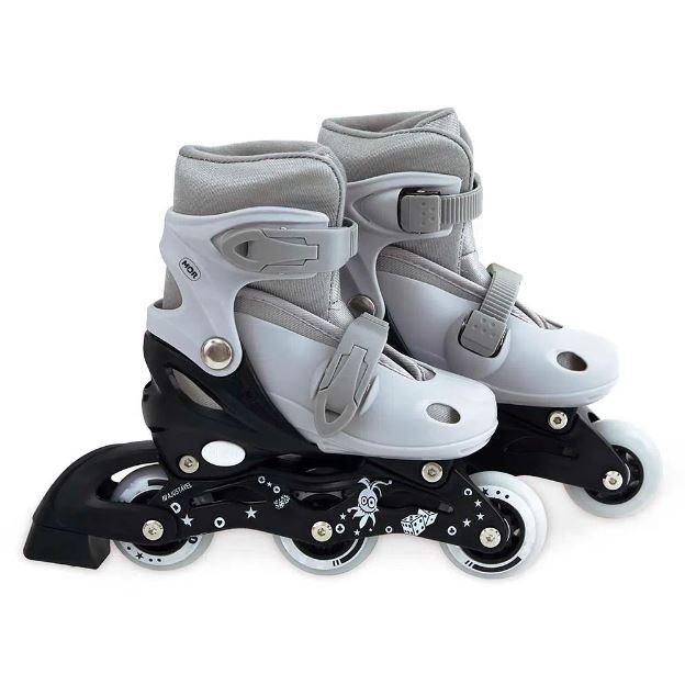 Kit Roller Cinza Tamanho M 34/37 - Mor 40600104