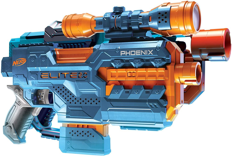 Lançador de Dardos Elite 2.0 Phoenix CS 6 Nerf - Hasbro E9962