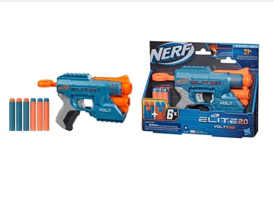 Lançador de Dardos Elite 2.0 Volt SD 1 Nerf - Hasbro E9953