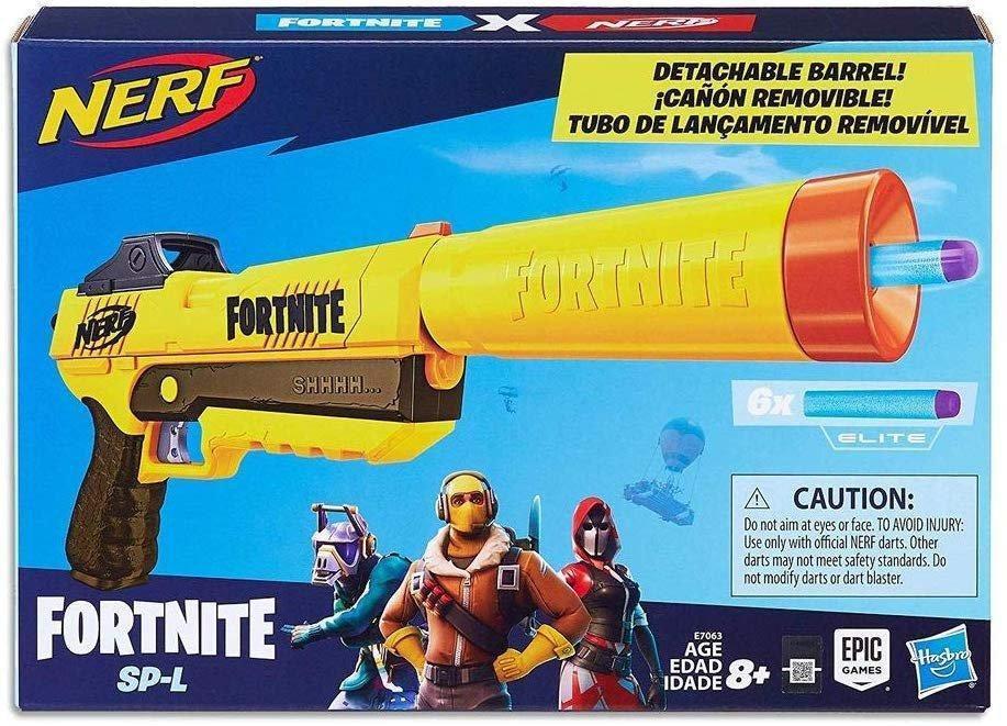 Lançador de Dardos Nerf Fortnite Sp-l -  Hasbro E7063