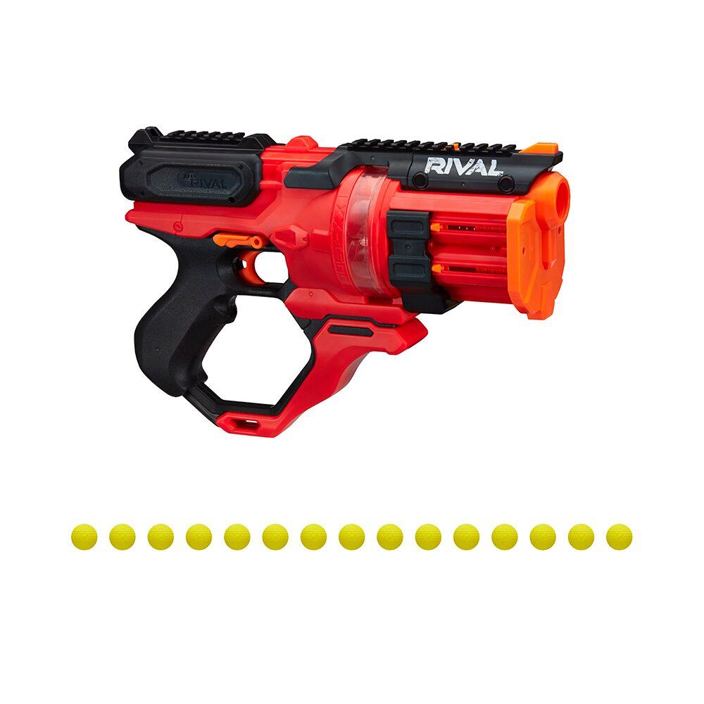 Lançador de Dardos Nerf Rival Rounhouse 1500 - Hasbro E6638