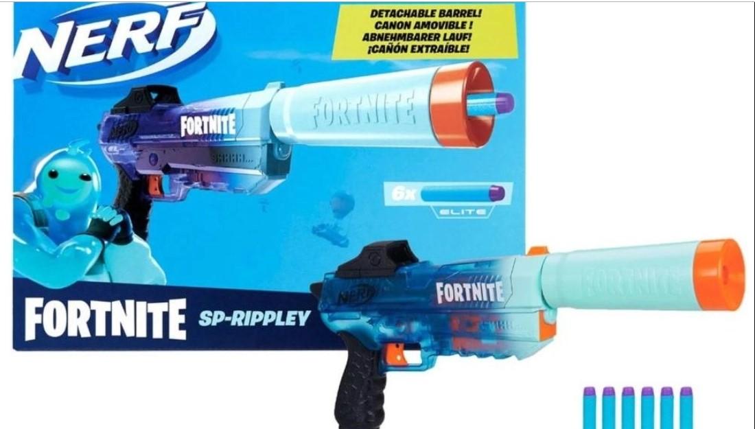 Lançador de Dardos NerfnFortnite SP-Rippley - Hasbro F1036