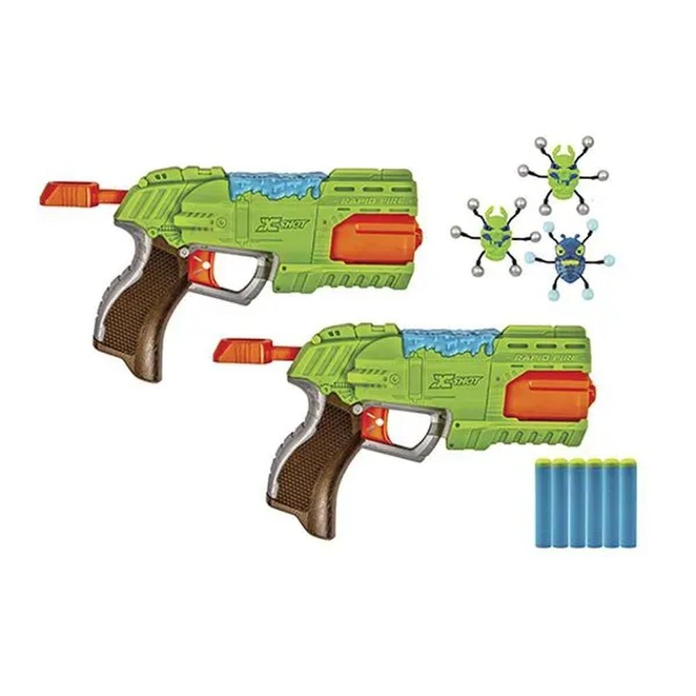 Lançador de Dardos X-Shot Bug Attack 2 Rapid Fire - Candide 5559