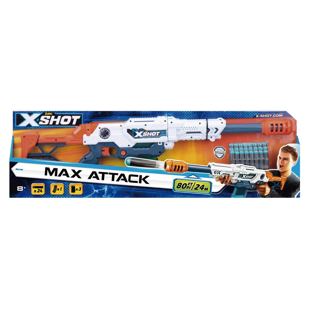 Lançador de Dardos X-Shot Excel Series Max Attack - Candide 5557
