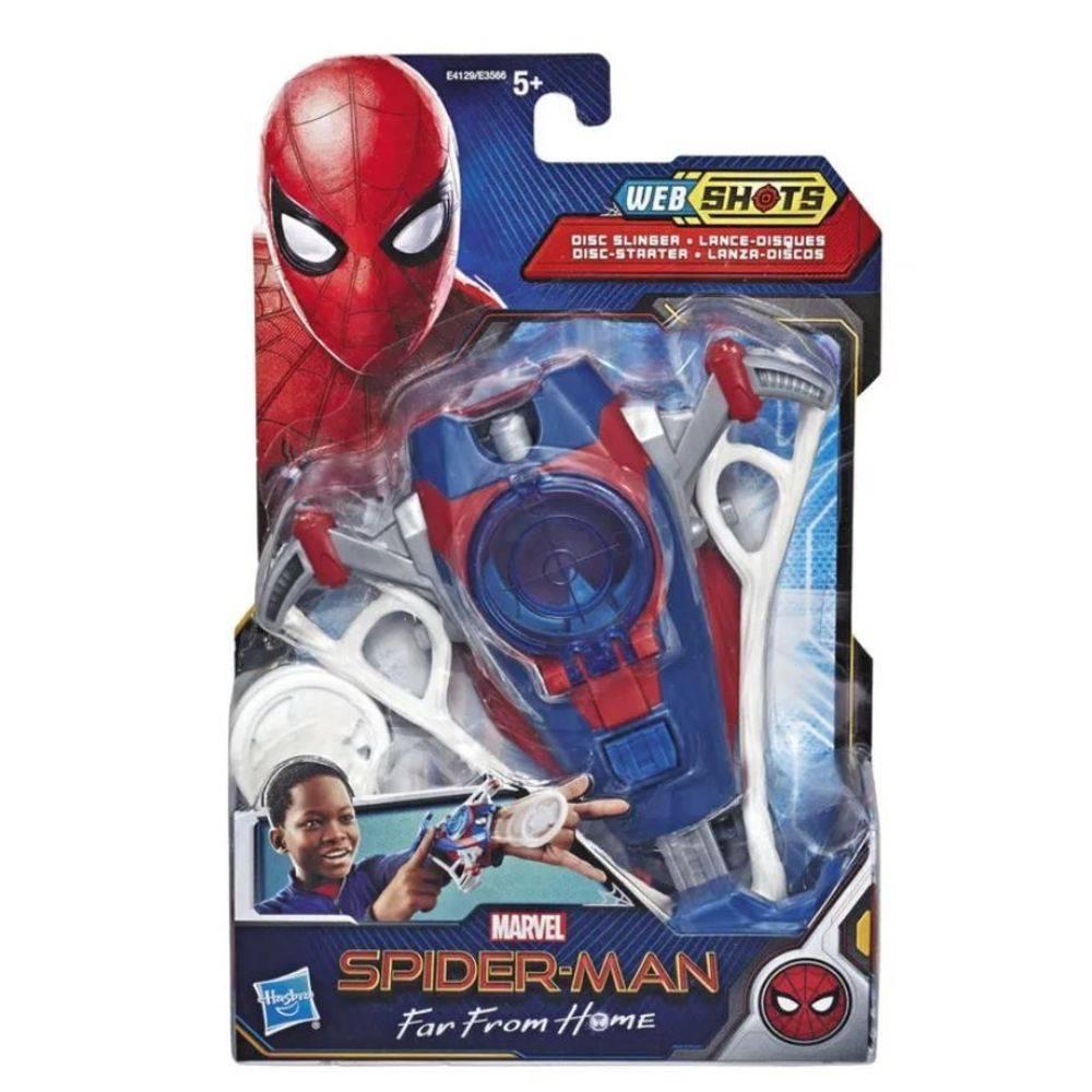 Lançador Homem Aranha Lança Disco E3566/E4129 - Hasbro