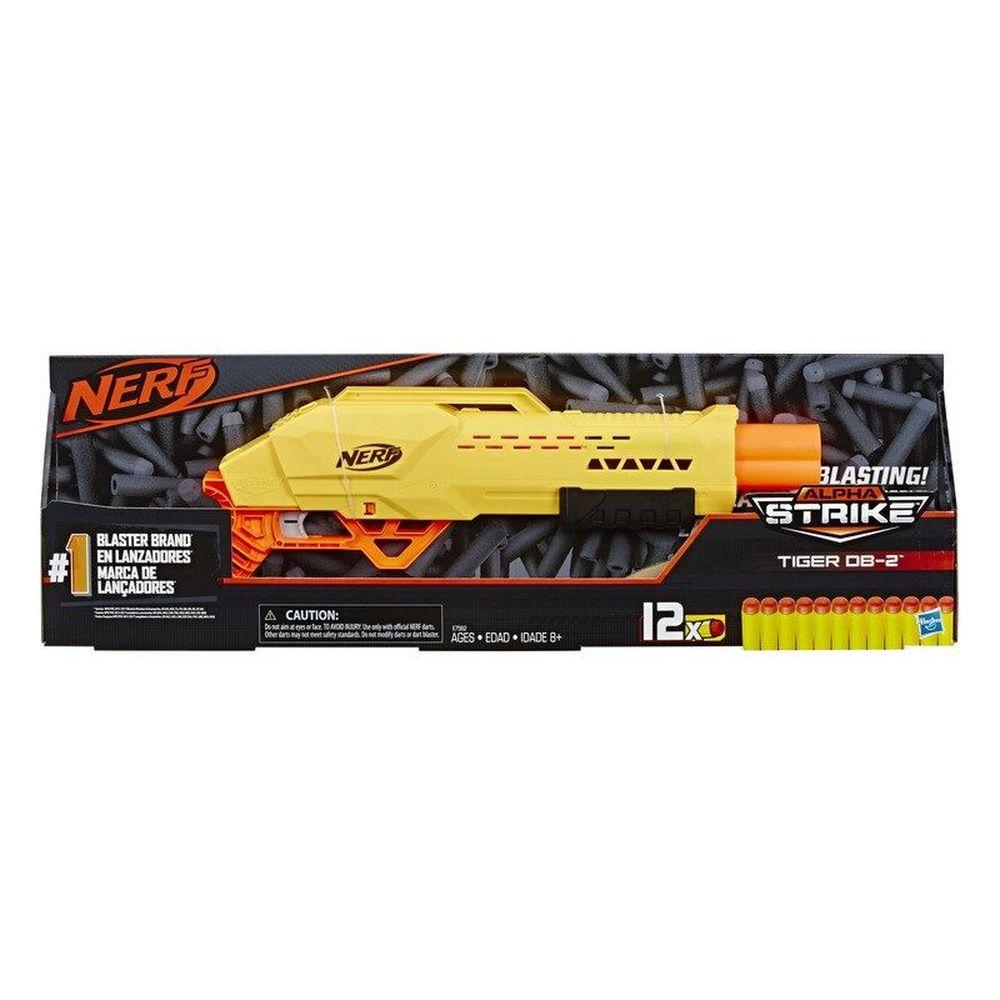 Lançador Nerf Alpha Strike Tiger E7562 - Hasbro