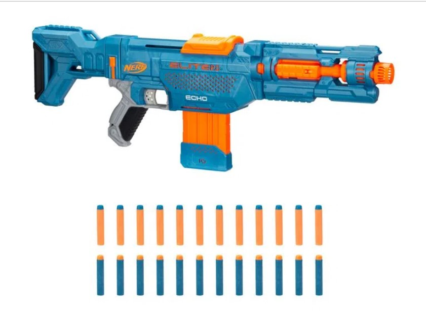 Lançador Nerf Elite 2.0 Echo Cs10 - Hasbro E9534