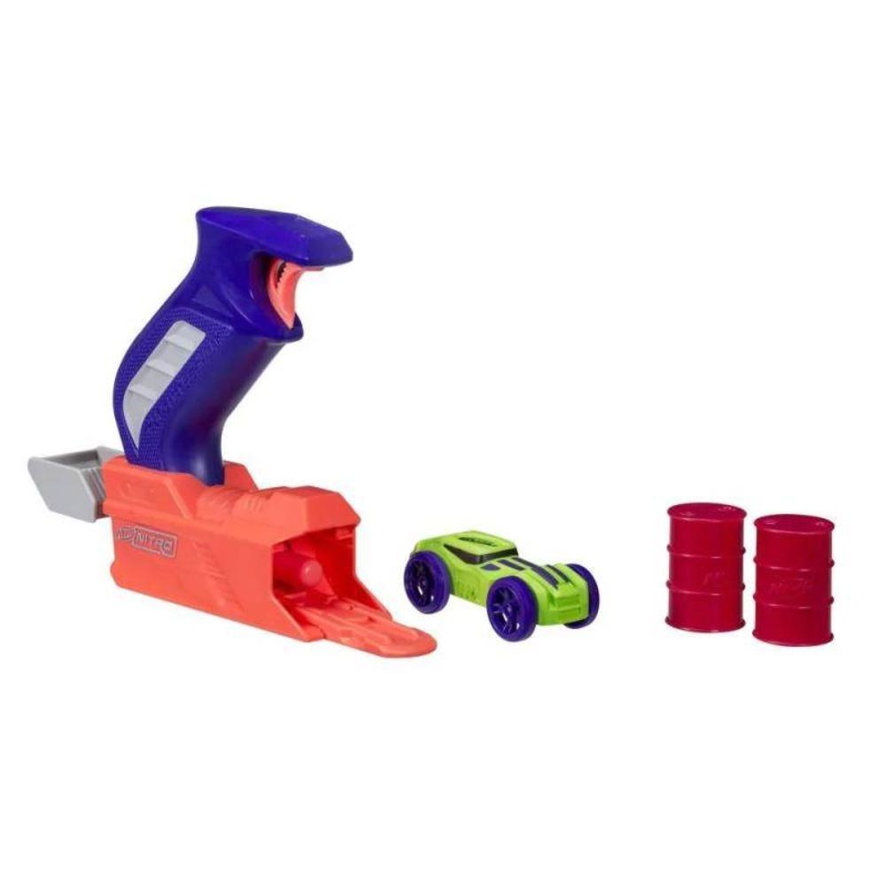 Lançador Nerf Nitro Throttleshot Azul C0781/C0780 - Hasbro