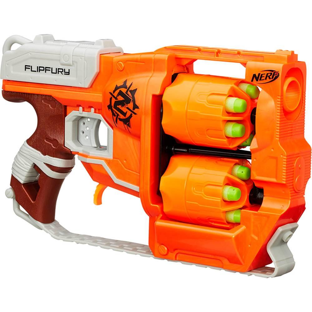 Lançador Nerf Zumbie Strike Flipfury B0562 - Hasbro