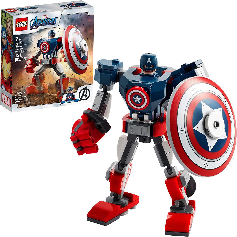 Lego Avengers Armadura Robô do Capitão América - Lego 76168