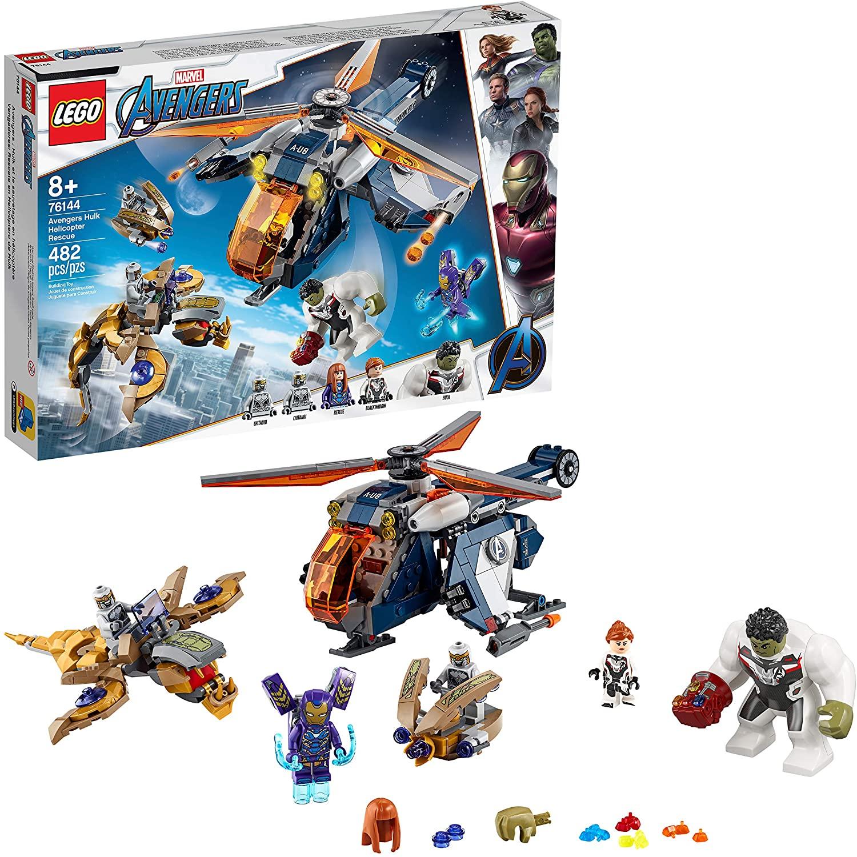 Lego Avengers Largada de Helicóptero de Hulk - Lego 76144