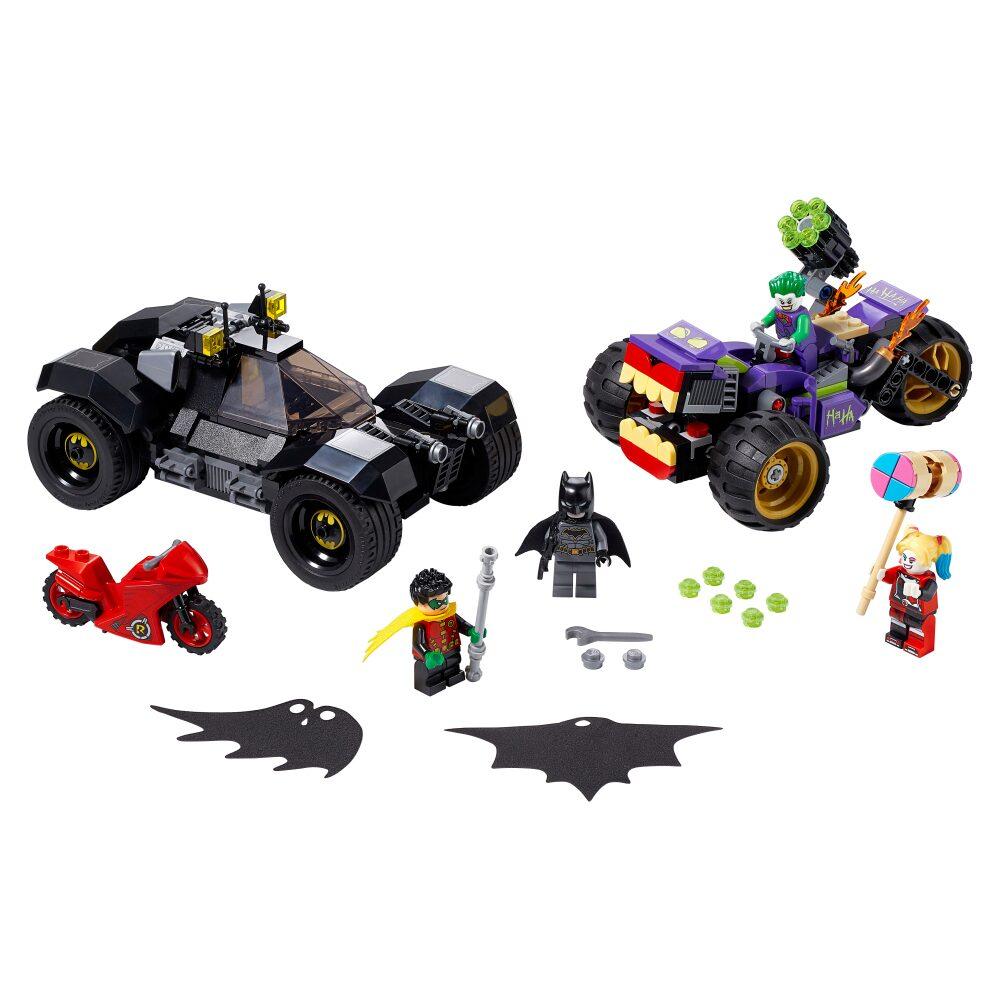 Lego Batman Perseguição do Triciclo do Joker - Lego 76159