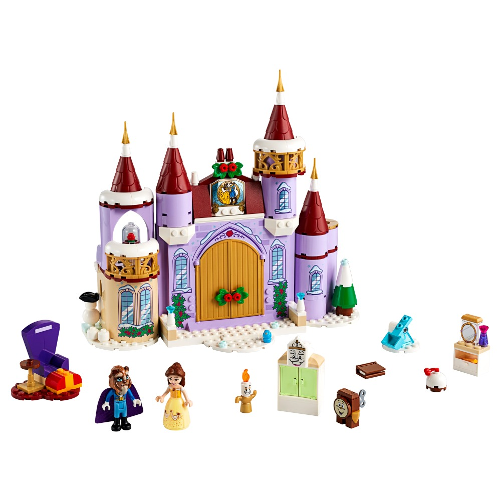 Lego Celebração de Inverno no Castelo da Bela - Lego 43180