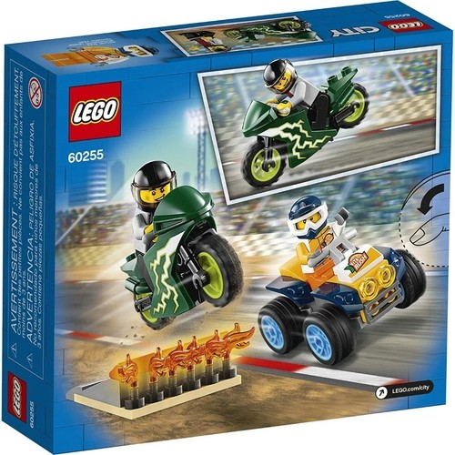 Lego City A Equipe de Acrobacias Radicais 62 Peças - 60255