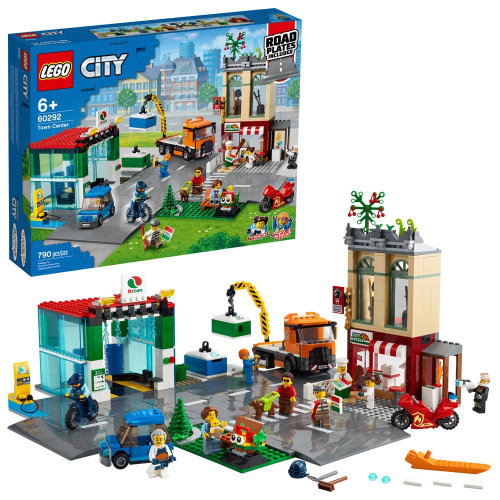 Lego City Centro das Cidades - Lego 60292