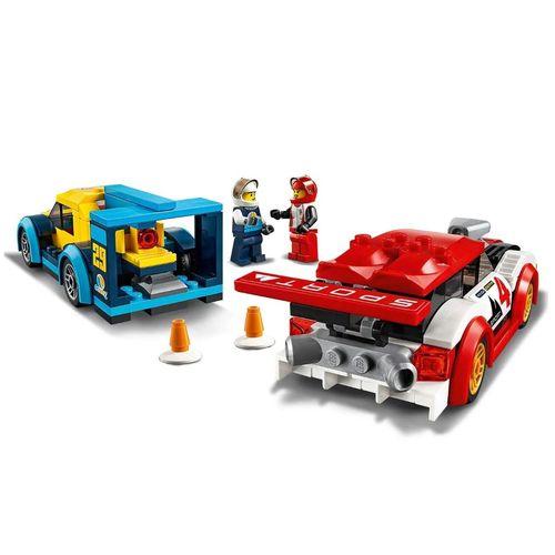 Lego City Competiçao de Carros de Corrida 190 Peças - 60256