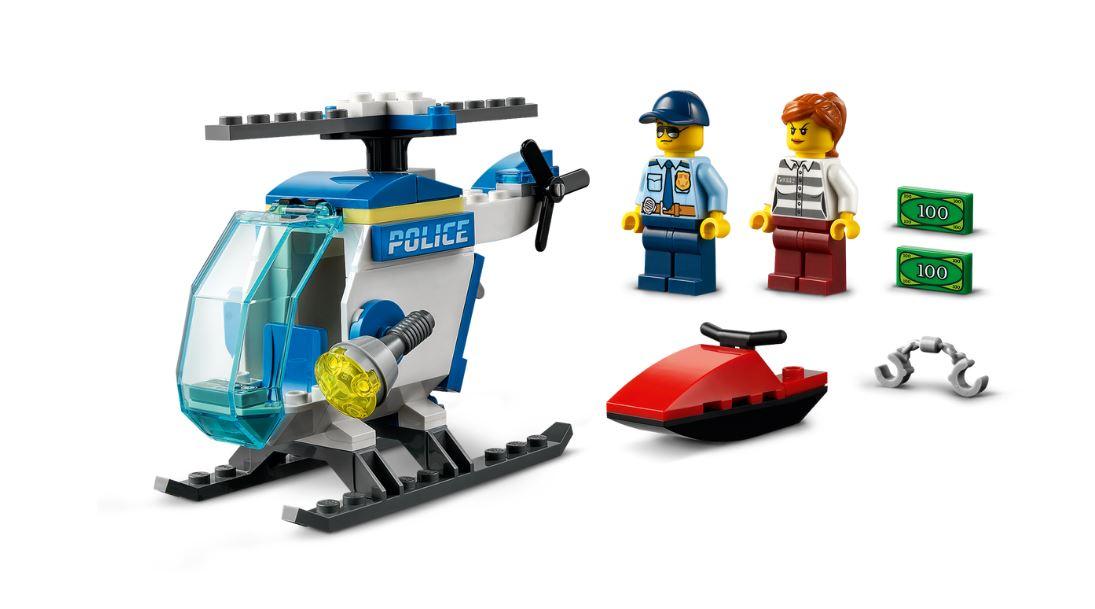 Lego City Helicóptero da Polícia - Lego 60275