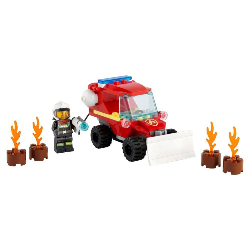 Lego City Jipe de Assistência dos Bombeiros - Lego 60279