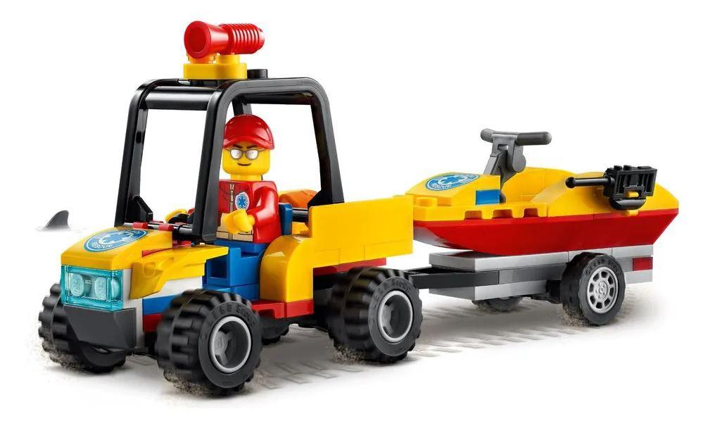 Lego City Off Road de Resgate na Praia - Lego 60286
