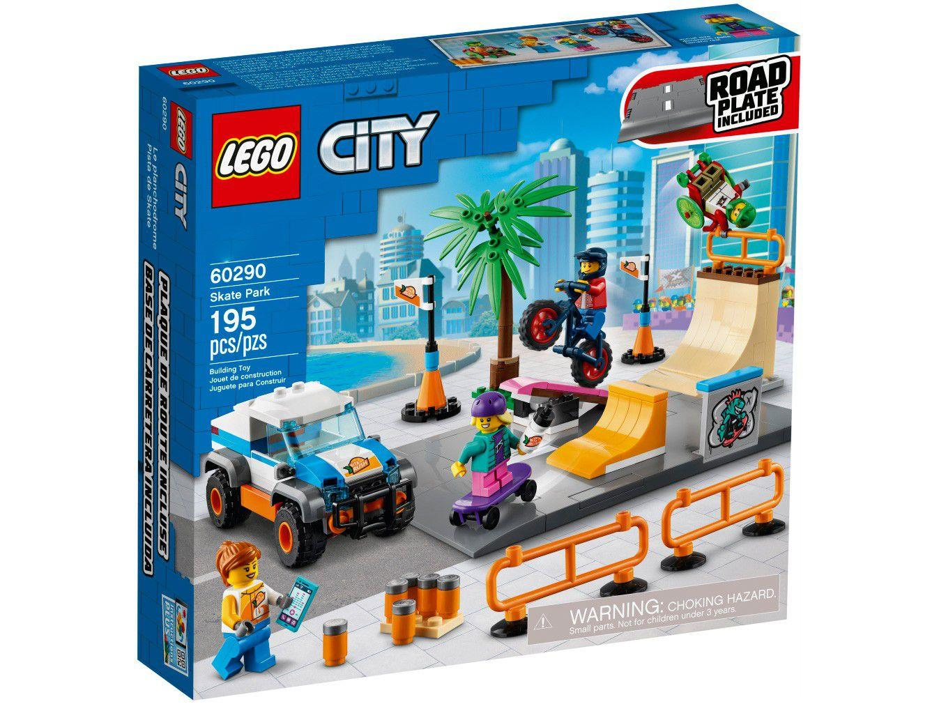 Lego City Parque de Skate - Lego 60290