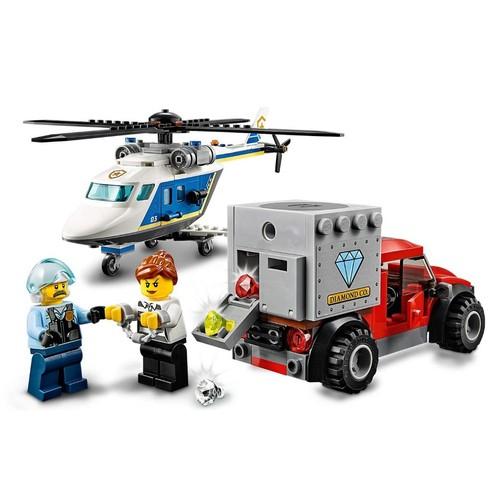 Lego City Perseguiçao Policial de Helicoptero - 60243